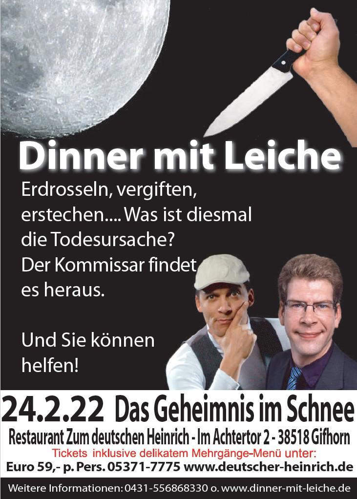 Dinner mit Leiche 2022
